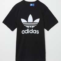 Adidas Originals Trefoil T-Shirt - Mens Tee - Black