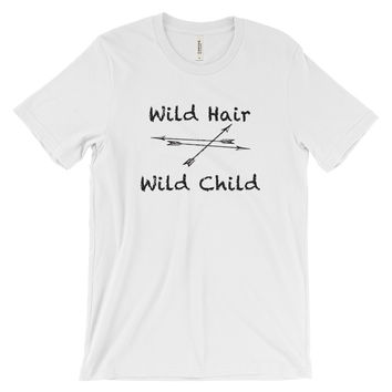 Wild Hair Wild Child Womens short sleeve t-shirt