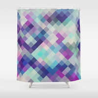 on the cool side Shower Curtain by Sylvia Cook Photography