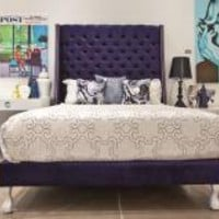 www.roomservicestore.com - St. Tropez Bed in Navy