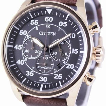 Citizen Eco-Drive Aviator Chronograph CA4213-00E Men's Watch