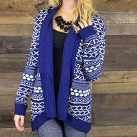 Local Tavern Navy Shawl Neck Cardigan