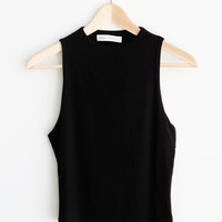 Mattie High Neck Top
