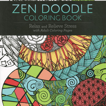 Zen Doodle Adult Coloring and Activity Book Over 100 Designs