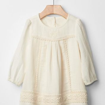Gap Baby Lace Detailing Dress