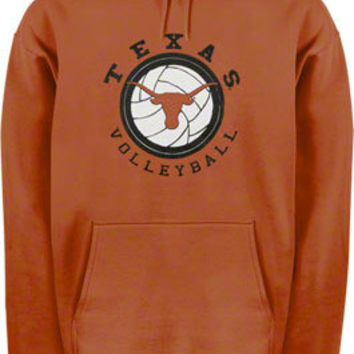 Texas Longhorns Youth Orange Volleyball Dig Hooded Sweatshirt