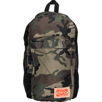 Obey Commuter Camo & Black Backpack at Zumiez : PDP