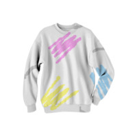 SCRATCH Sweatshirt created by Reverend Android | Print All Over Me