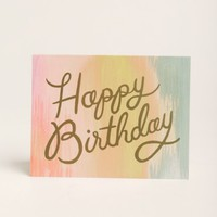 Sorbet Birthday Card By Rifle Paper Co.