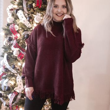 Grace Frayed Sweater