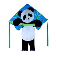 "Kite - Large Easy Flyer - Panda Bear (46"" X 90"") with 300 Ft 30lb Test Kite String and..."