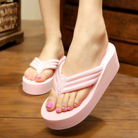 Design Stylish Bathroom Slippers Anti-skid Home Summer Sandals [10210879628]