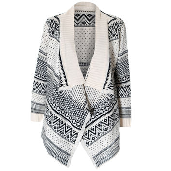 Shawl Neck Chunky Cardigan
