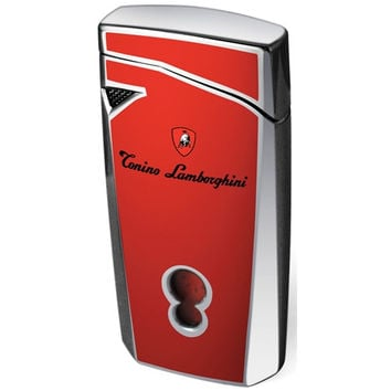 Tonino Lamborghini Magione Red Torch Flame Cigar Lighter