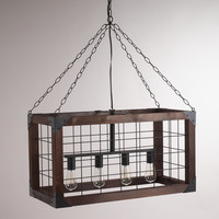 Rectangular Farmhouse Pendant Lamp - World Market
