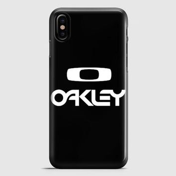 Oakley Wallpaper iPhone X Case
