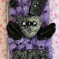 Premade Kawaii Gothic Death Decoden Iphone 5 5s Se Phone Case READY TO SHIP