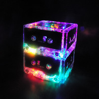 Rock n Roll Lamp Cassette Tape MixTape Multi-color LED Night Light Mood Light Table Lamp Nightstand Light Rainbow colors