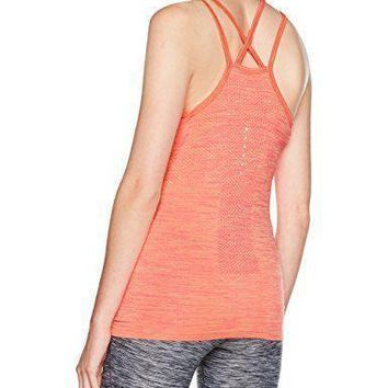 NIKE- Women's Dri-Fit Knit Running Tank Top Sunset Glow Racer Pink- NWT