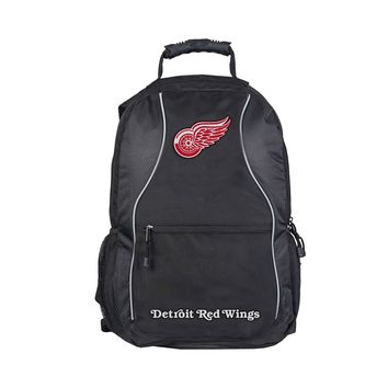 "Detroit Red Wings Backpack Official NHL ""Phenom"""