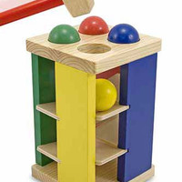 Melissa & Doug Pound and Roll Tower Toddler Toy