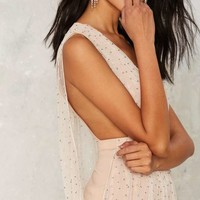 Nasty Gal Collection Diamonte Beaded Dress