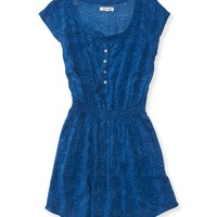 Aeropostale  Womens Printed Shirt Dress