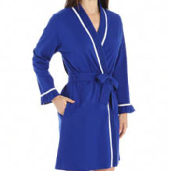 Eileen West 5115940 Enchanting Waves Short Wrap Robe