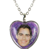 DAVE FRANCO GLITTER NECKLACE