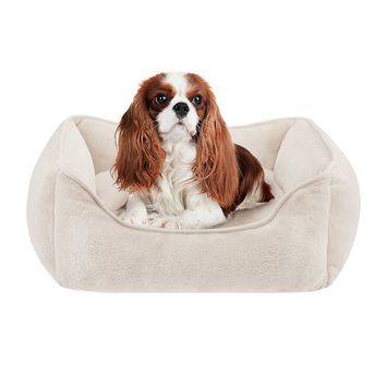 Simmons Beautyrest Chance Plush Rectangular Cuddler Dog Bed - 34'' x 24''