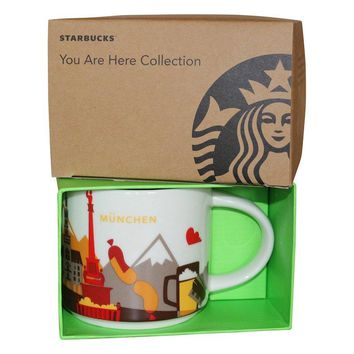 Starbucks You Are Here Collection Germany Munchen Ceramic Coffee Mug New Box