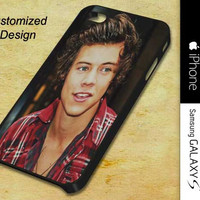 Harry Style For iPhone, Samsung Galaxy S and iPod Cases