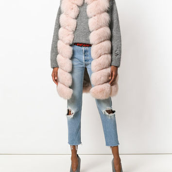 Yves Salomon Quilted Fur Gilet - Farfetch