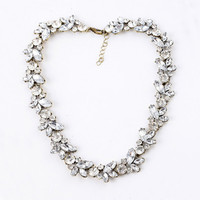 Crystal Embellished Necklace