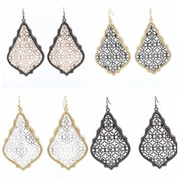 Dangle Filigree Earrings Kendra + Chloe Drop Fashion Isabel J. Scott
