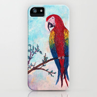 Polly Want A Cracker? iPhone Case by RokinRonda | Society6