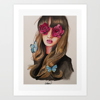 Nature Sense Art Print by lostanaw