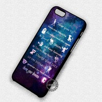 Quote Lessons Learned Mash Up - iPhone 7 6 5 SE Cases & Covers