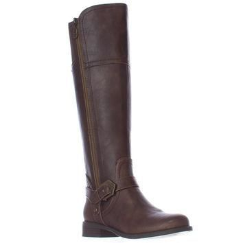 G by GUESS Hailee Riding Boots, Dark Brown, 6.5 US