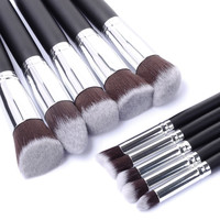 High Quality Makeup Brushes 10pcs/lot Beauty Foundation Blush Eyeshadow Blending Synthetic Hai Make up Brush Set Maquiagem