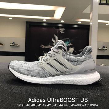 Adidas Ultra Pure Boost ub 4.0 Gray White Men Fashion casual trainers - BB6167