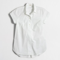 Factory short-sleeve popover shirt