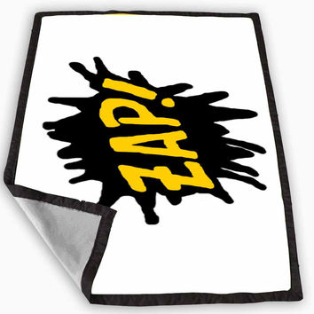 ZAP tattoo Blanket for Kids Blanket, Fleece Blanket Cute and Awesome Blanket for your bedding, Blanket fleece **
