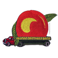 Allman Brothers Peach Truck Patch on Sale for $4.99 at HippieShop.com