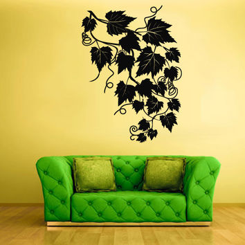 Wall Decal Vinyl Sticker Decor Art Bedroom Design Foliage Tree Modern Fashion Style (z566)