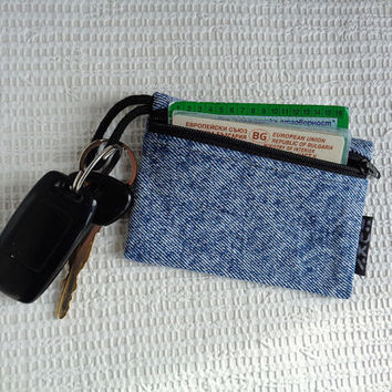 4 in 1 -  car keychain / key pouch / keychain wallet  / coin purse / card holder