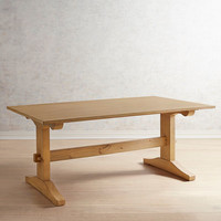 Magnolia Home Kindred 6' Wheat Dining Table