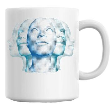 DCCKU7Q Faces Mug
