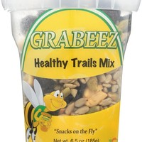 GRABEEZ SNACK CUPS: SNACK CUP HEALTHY TRL MX (6.500 OZ)