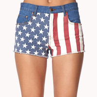 Star-Spangled Denim Cut Offs